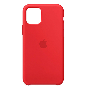 Çexol Apple Silicone Case for iPhone 11 Pro Max Red - Maxi.az