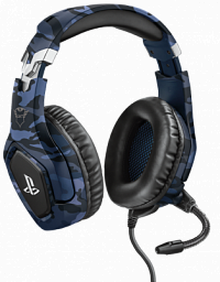 Trust GXT 488 Forze-B PS4 Gaming Headset PlayStation® official licensed product - blue (23532)