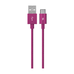 Kabel Ttec AlumiCable Type C 2.0 Charge/Data Cable Pink - Maxi.az