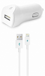 Ttec Speed Car Charger Iphone (2CKS01L) White