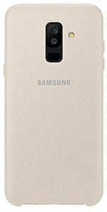 Çexol Samsung Dual Layer cover A6+ (2018) Gold - Maxi.az