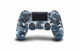 Sony Play Station 4 DualShock 4 Wireless Controller, Blue Camo (Army Blue)