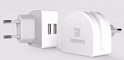 Remax Home Charger Fast 2 USB 2.1A White