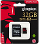 Yaddaş kartı Kingston 32GB microSDHC Canvas React 100R/70W U3 UHS-I V30 A1 + SD Adapter - Maxi.az