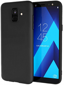 Çexol Soft Case for Samsung A6 plus Black - Maxi.az