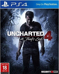 PS4 - Uncharted 4: A Thief's End - Standart Plus Edition
