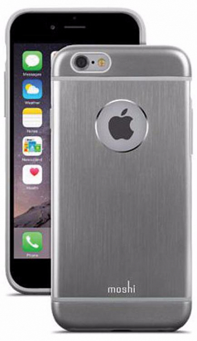 Çexol Moshi iGlaze Armour for iPhone 6 - Gunmetal Gray - Maxi.az