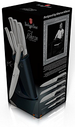 Berlinger Haus Kikoza Collection 6 pcs Knife Set with Stand BH2277