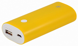 Ttec Power Bank P5000 External Batary Yellow