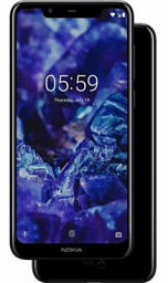 Nokia 5.1 Plus DS Black