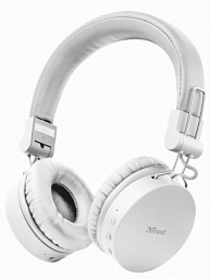 Trust TONES WIRELESS HEADPHONES WHITE (23909)