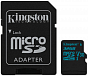 Yaddaş kartı Kingston 32GB microSDHC Canvas Go 90R/45W U3 UHS-I V30 Card + SD Adapter - Maxi.az