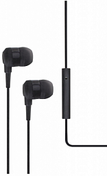 T-Tech J10 In-Ear Headphone with Microphone 3.5mm Black