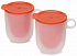 Joseph Joseph M-Cuisine Microwave Cool-Touch Mugs, Set of 2, Orange (45012)