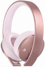 Sony PS4 Rose Gold Wirelles Headset