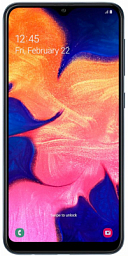 Samsung Galaxy A10 SM-A105 Black