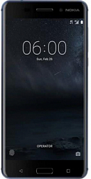 Nokia 6 Dual Tempered Blue