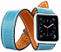 Toto Leather Belt Apple Watch 38mm blue