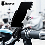 Baseus CRJBZ-01 Knight Holder for Motorcycle / Bicycles (Black)