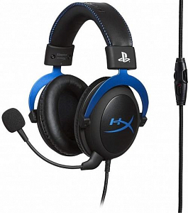 Qulaqcıq Headset HyperX Cloud PS4 Blue HX-HSCLS - Maxi.az
