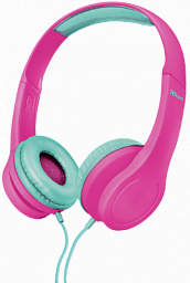 Trust URBAN Kids Headphone - PINK (22491)