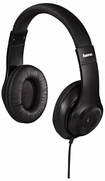 Hama Over-Ear Stereo Headphones HK6104 Black