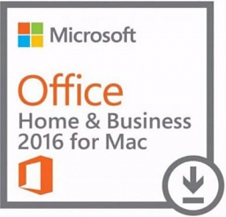 Microsoft Office Mac Home Business 1PK 2016
