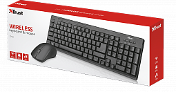 Trust Ru Ziva Wireless Keyboard & Mouse (22666)