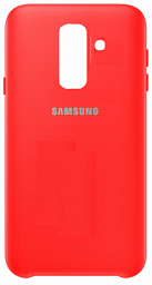Samsung Silicone Case A6+ 2018 Red