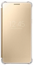 Samsung Galaxy A5 (A510) Clear View Cover gold