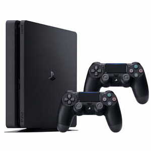 Oyun konsolu Sony PS4 Slim 1TB Black with second ps4 controller - Maxi.az