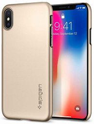 Spigen case Iphone X Gold