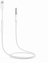 Apple AUX Lightning to 3.5 Audio White (MH021)
