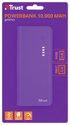 Trust Primo Powerbank 10000 mAh  Purple 22750