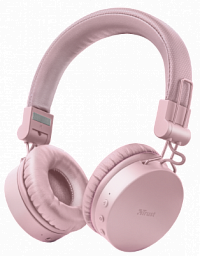 Trust TONES WIRELESS HEADPHONES PINK (23910)