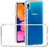Silicone case Samsung A10 Clear