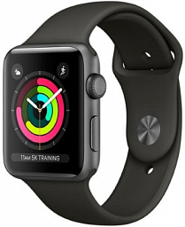 Apple Watch S3 42mm Black Sport (MQL12)
