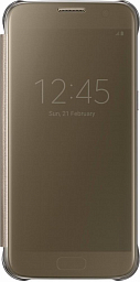 Samsung Galaxy S7 (G930) Clear View Cover (gold)