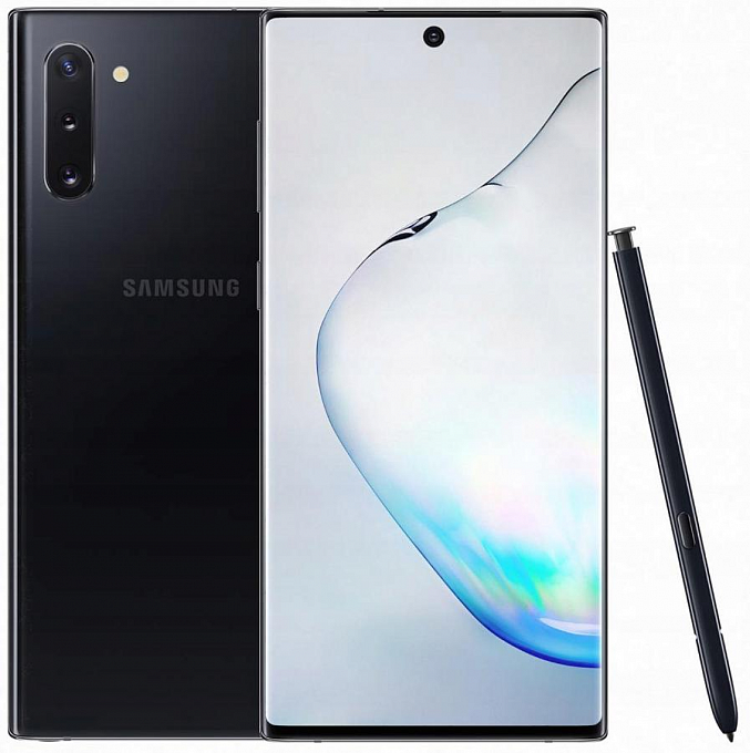 Telefon Samsung SM-N975 Galaxy Note 10 Plus 256GB Aura Black - Maxi.az