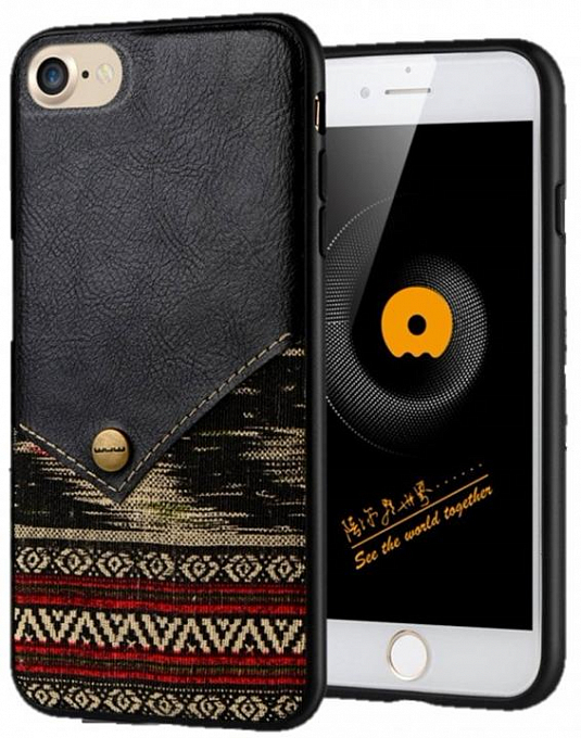 Çexol WUW CASE Iphone 7 black - Maxi.az