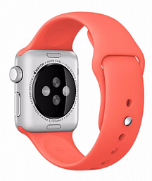 Apple Watch Sport 38mm Silver Aluminum - Apricot Sport Band (MMF12LL/A)