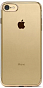 Ttec Chrome Clear Case for Iphone 7 Gold