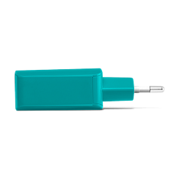 Ttec SpeedCharger USB Travel Charger, 2.1A, incl. Type C Teal