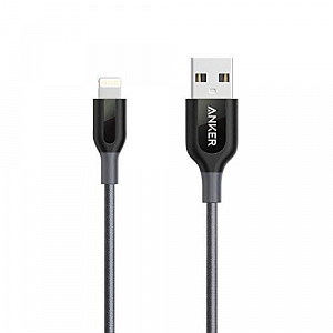 Kabel Anker Powerline+ Lighting USB 3ft UN Grey - Maxi.az