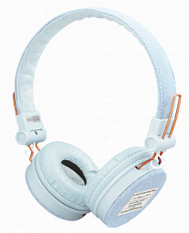 Trust Fyber Headphones - light denim (23610)