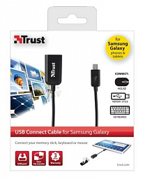 Trust USB Connect Cable for Samsung Galaxy (19910)