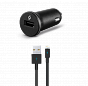 T-tec SpeedCharger Duo USB In-Car Charger, 3.1A, Universal Black