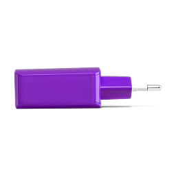 Ttec SpeedCharger USB Travel Charger, 2.1A, incl. Type C Violet