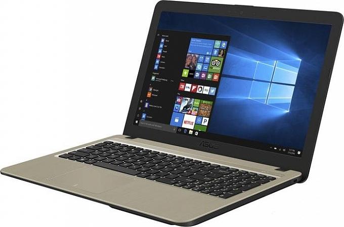 Notebook  Asustek  Asus X540NA 15.6  CEL-N3350, 4GB, 500gb, Graphics 500,DOS, NO ODD, black