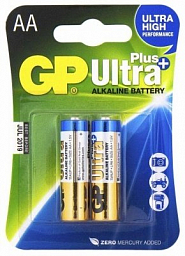 GP Ultra Plus Alkaline AA(2) 15AUP-2UE2